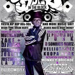 Rock in the Block – Soirée Hip-Hop oldschool au Bombay, México [Event]