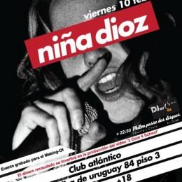 Niña Dioz + PPDD @México DF 10.02.2012