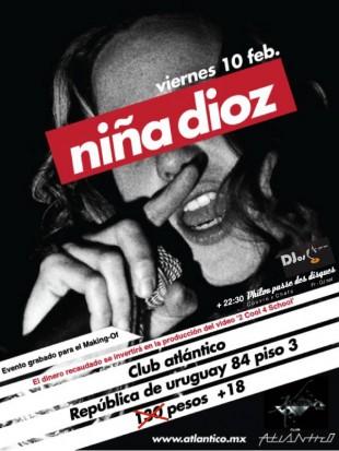 Niña Dioz + PPDD @México DF 10.02.201
