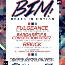 BIM! #3 : Fulgeance + BR&CP + Rekick – Nancy – Vendredi 13 Décembre [Concours]