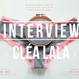 Les broderies artisanales de Cléa Lala (100% faites à la main)