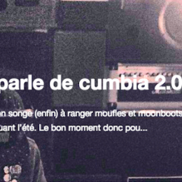 Philou parle de cumbia 2.0 chez L'Artichaut