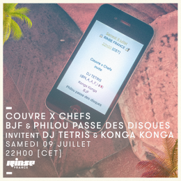 Rinse France : BJF & Philou invitent Konga Konga & DJ Tetris