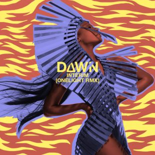 Dawn Richard - Interim (Onelight RMX). Artwork by Pierre Thyss