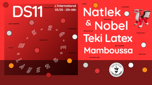 [2X2 PLACES] Dancing Shoes : Merge Layers, Teki Latex & Mamboussa