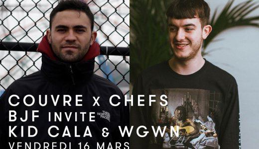 Rinse France : BJF w/ Kid Cala & wgwn