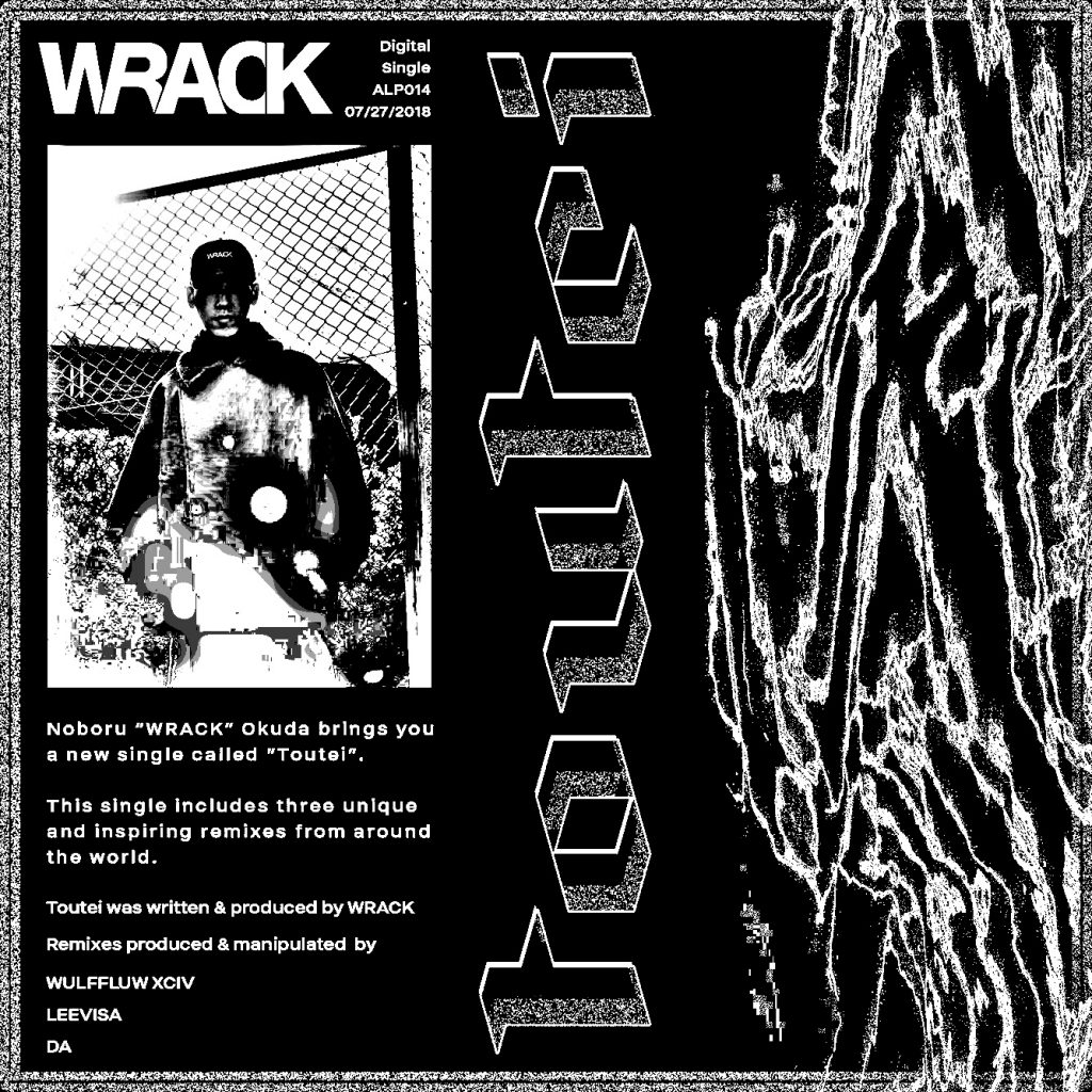 WRACK - TOUTEI WULFFLUW XCIV remix couvre x chefs afterlifeplus alp