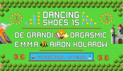 [2X2 PLACES] Dancing Shoes invite Emma, De Grandi, Orgasmic et Airon Kolarow