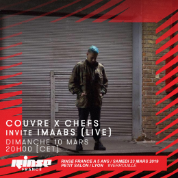 "Imaabs on Rinse France: ""The live act is perhaps more of an art installation"""