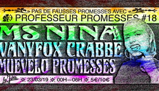 [2X2 PLACES] Professeur Promesses #18 w/ Ms Nina, Vanyfox, Crabbe, Muevelo