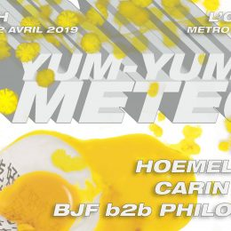 [2 places] Yum-Yum METEO w/ Hoemelettes, K-Neu, Carin Kelly & more