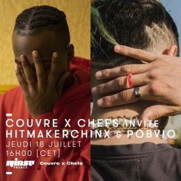 Rinse France w/ Hitmakerchinx & Pobvio – 18.07.2019