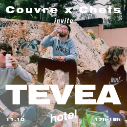 Tévéa – Couvre x Chefs on Hotel Radio Paris – 11.10.19