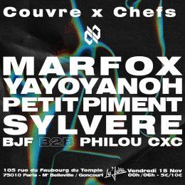 15.11.19 | Couvre x Chefs : Marfox Yayoyanoh Petit Piment Sylvere